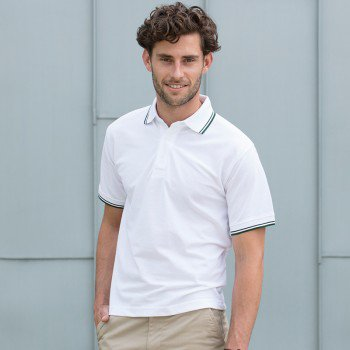 Adults 65/35 Tipped Polo Shirt
