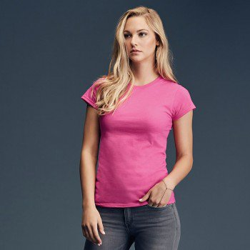 Womens Lightweight Fitted Tee