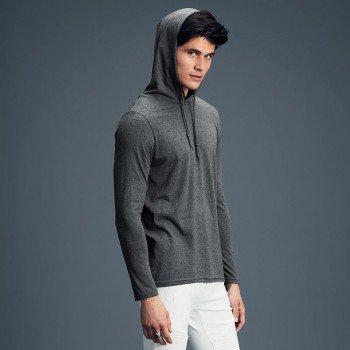 Adult Lightweight Long Sleeve Hooded Tee